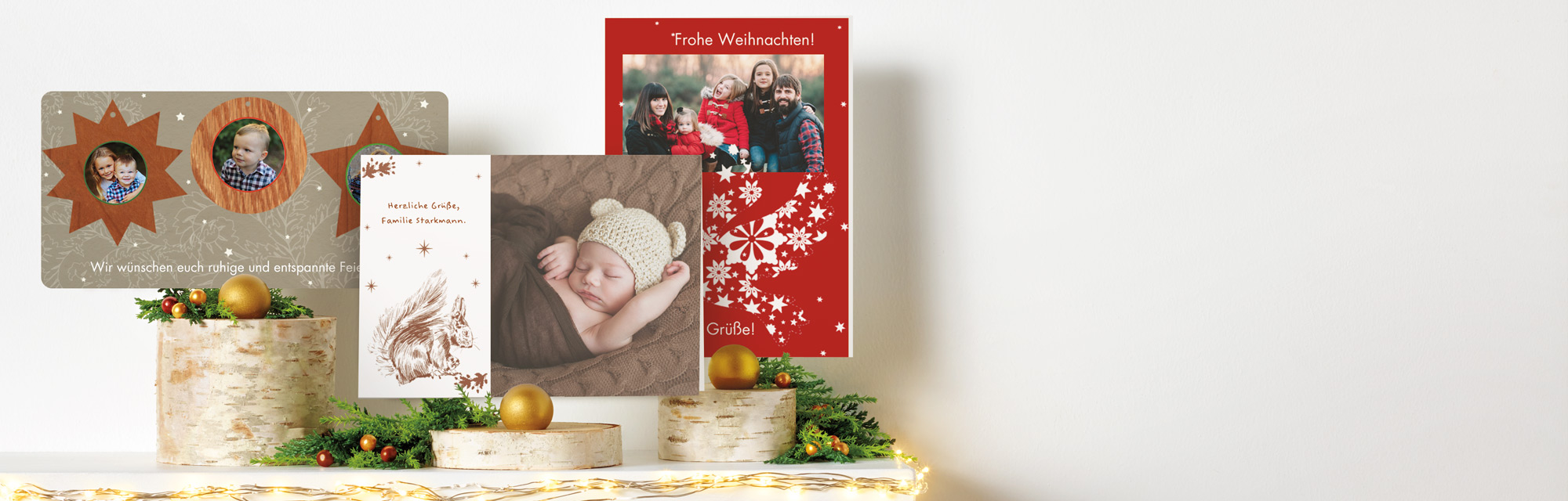 Weihnachtskarten mit foto die bezaubern jetzt - Weihnachtskarten erstellen ...