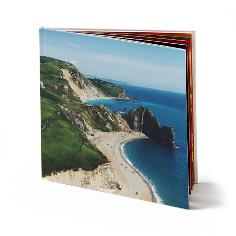 "12x12"" Square Hardcover Photo Book"