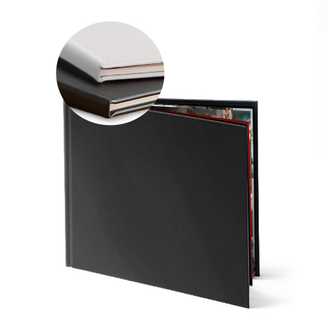 Leather hardcover  - €34.99