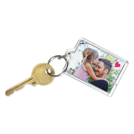 Photo Acrylic Keyring