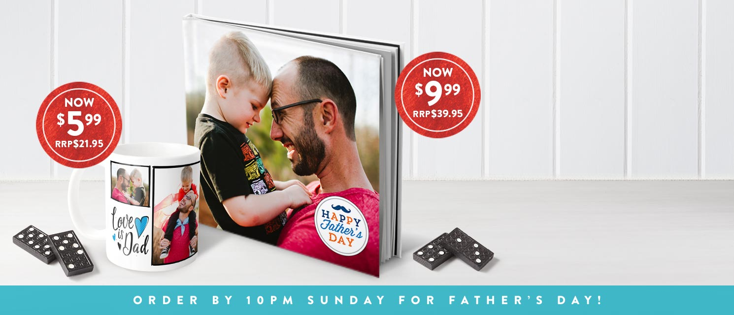 Last week for Father's Day deals : Order by 10pm Sunday August 20 for Father's Day delivery.