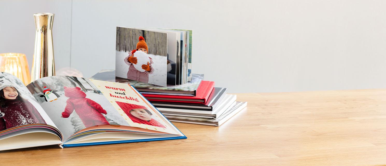 Fotobücher : Erinnerungen und besondere Momente festhalten mit unseren Fotobüchern