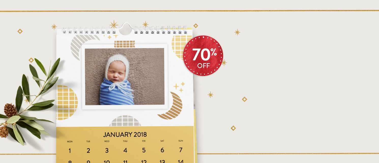 Calendar Deal : Enjoy 70% OFF A4 Classic Calendar.Use code CLASSIC1117 by 27/11.