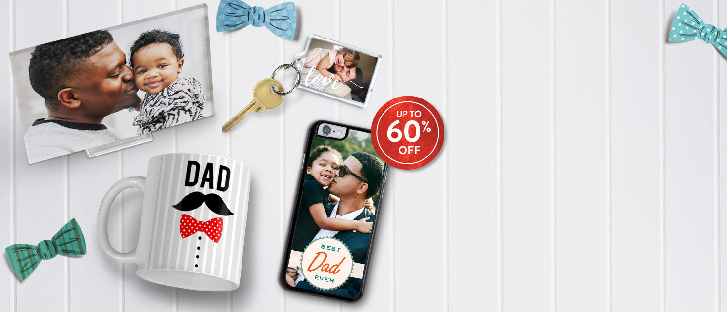A daddy of sales!  : Save up to 60% on Father's Day gifts. Use code DAD517 by 4/6.