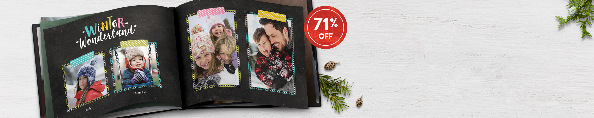 Photo Books : Bring home a best seller! Regularly $34.99, now save $25 on our 8x11 Hardcover Photo Book. Use code BESTBOOK
