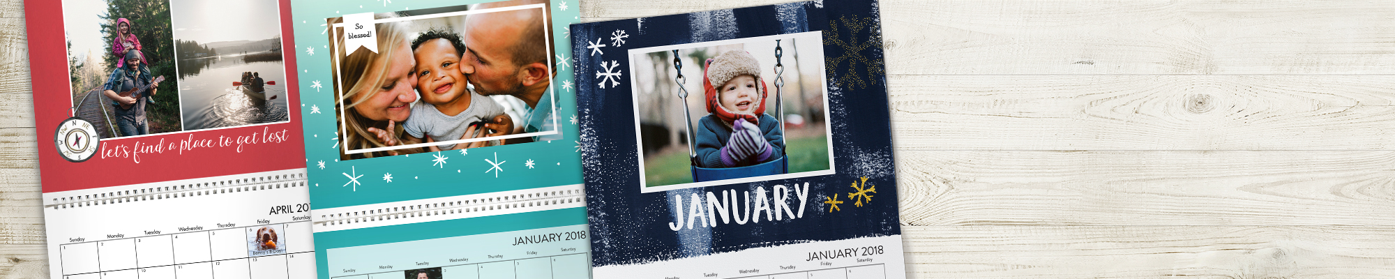 2018 Photo Calendars  'Tis the season to create personalized calendars for 2018.