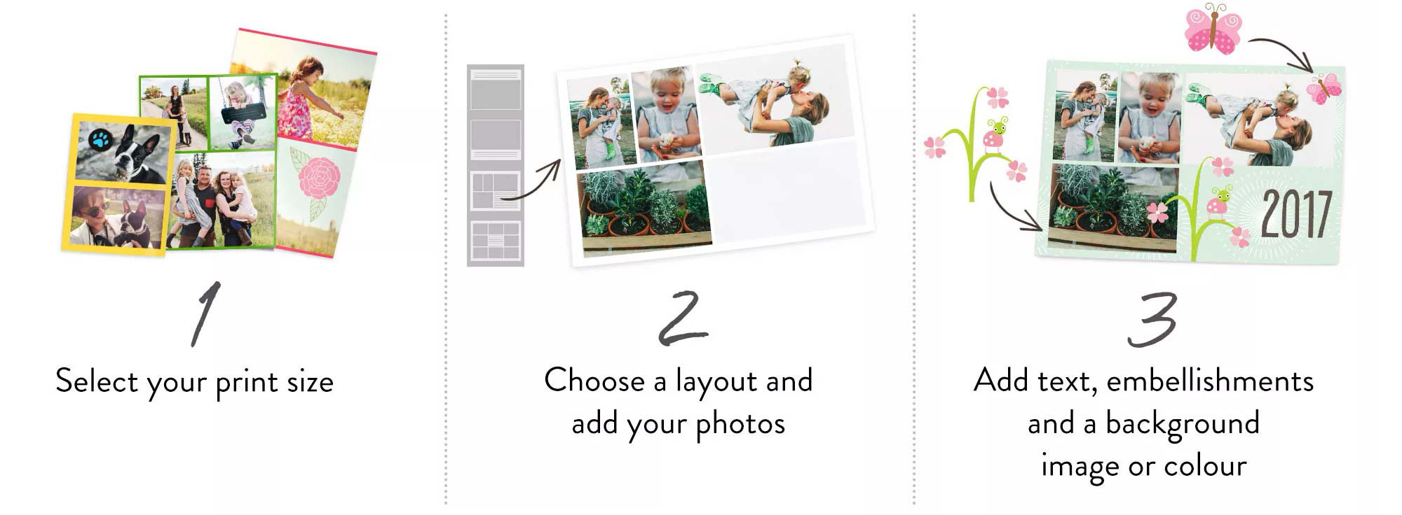 create a collage print in 3 easy steps