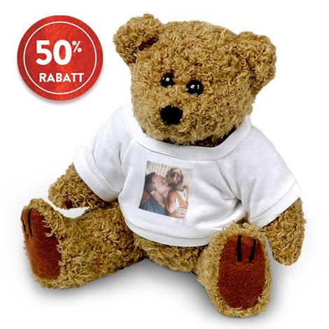Kuscheltier Teddy mit Foto