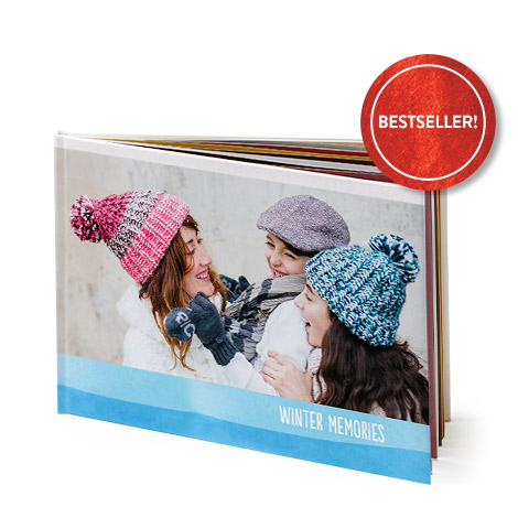 "A4 Landscape Hardcover Layflat Photo Book (11x8"")"