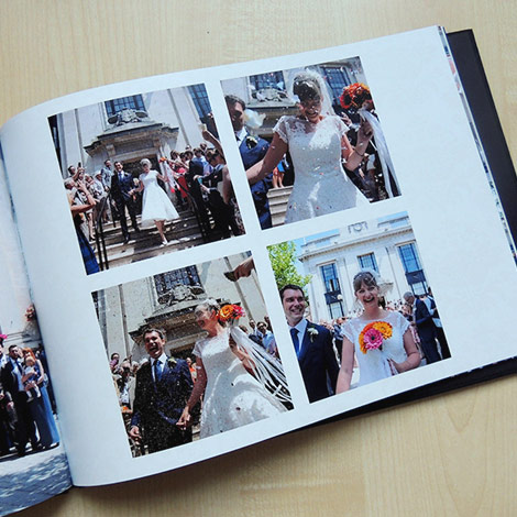 Make a photo book for your coffee table