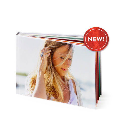 "A5 Landscape Hardcover Photo Book (8x6"")"