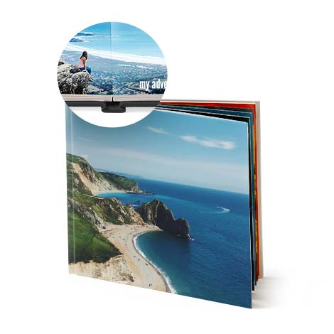 "8x8"" Square Hardcover Layflat Photo Book"