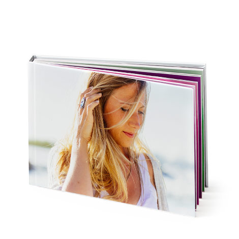 "8x6"" Landscape Hardcover Photo Book (A5)"
