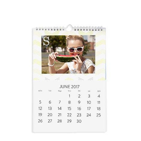 A4 Classic Wall Calendar