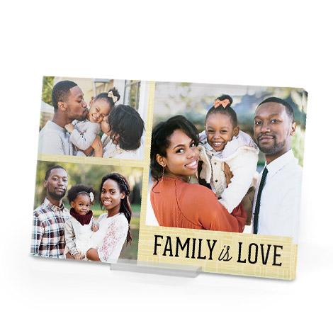 Tabletop Acrylic Photo Print