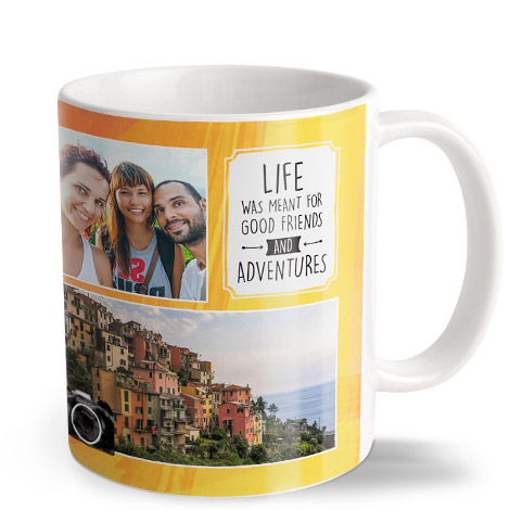 White Coffee Mug 11oz