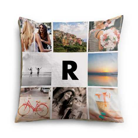 Collage Pillow