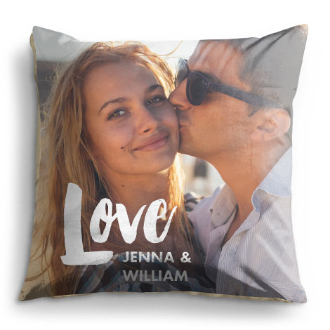 Large Photo Cushion