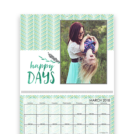Wonderful 11x14 Wall Calendar