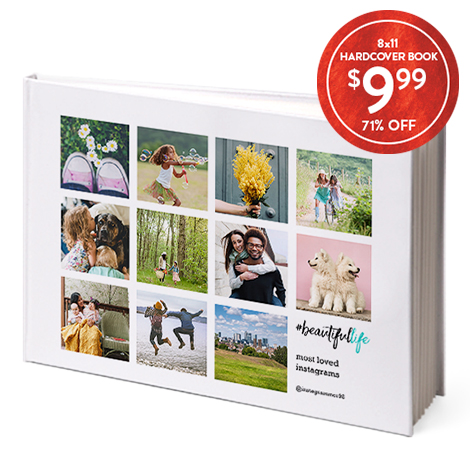 8x11 Hardcover Book ONLY $9.99