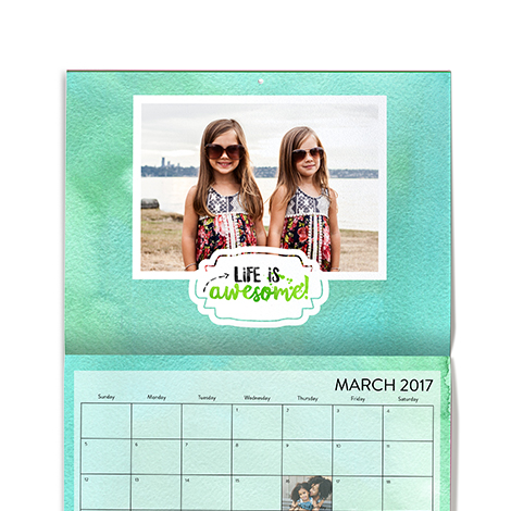 Photo Calendars | Desktop Calendars | Wall Calendars |Custom ...