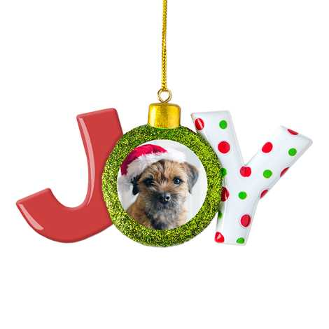 Icon Joy Christmas Ornament