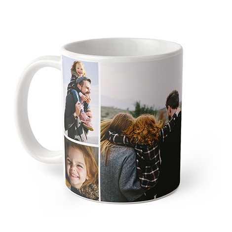 Icon Collage Photo Coffee Mug, 11 oz.