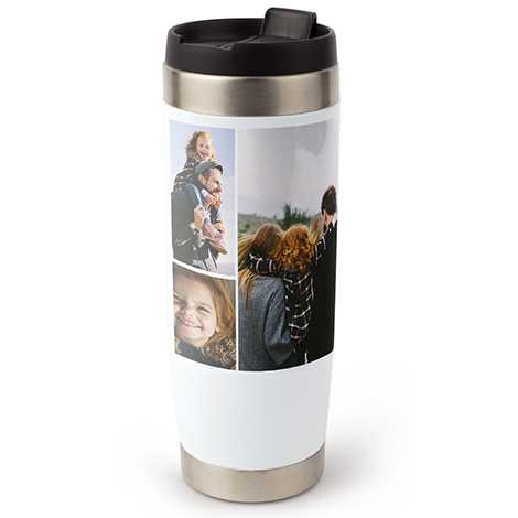 Collage Travel Tumbler, 15 oz.