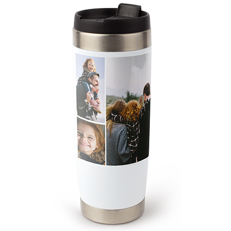 Icon Collage Travel Tumbler, 15 oz.