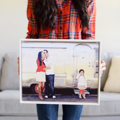 We love seeing what you make with canvas prints