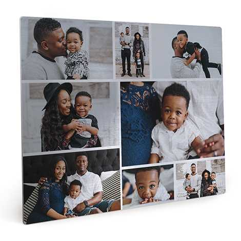 Metal Photo Panel, Tabletop