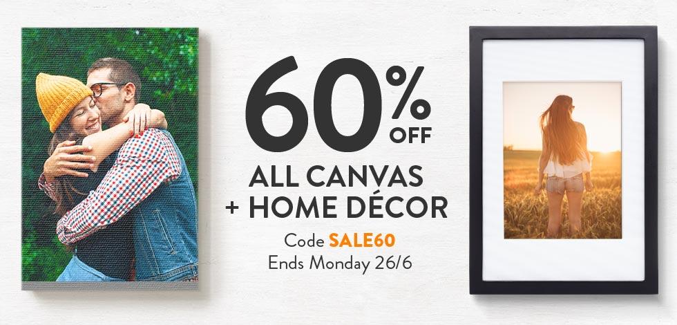 Shop Canvas + Home Decor
