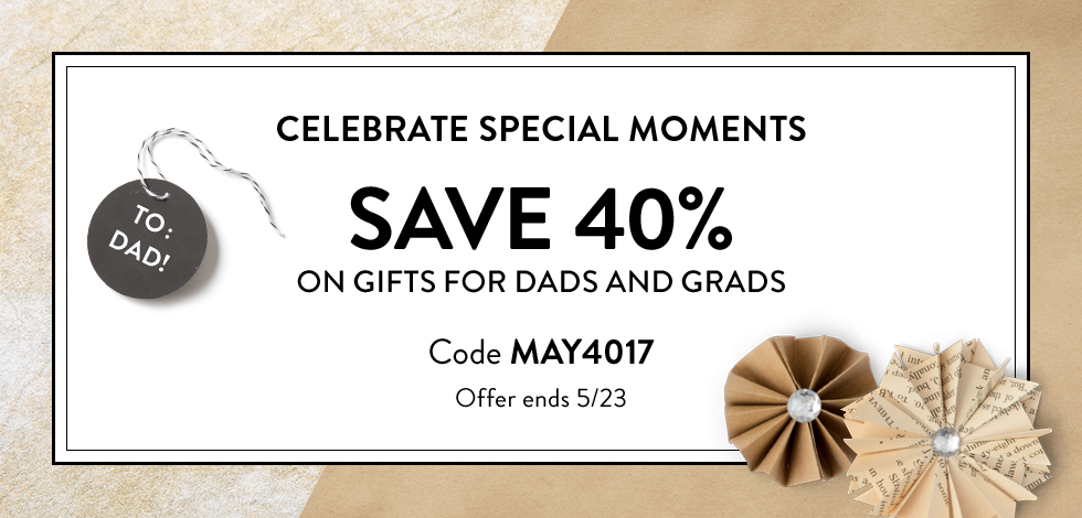 40% off gifts for dads and grads