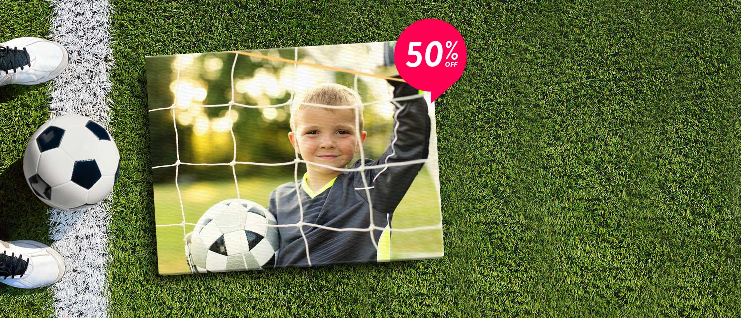 50% off all Canvas!