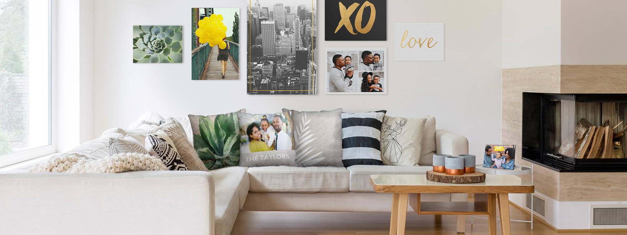 Home Décor Ideas Beautifully Display Your Photos Throughout