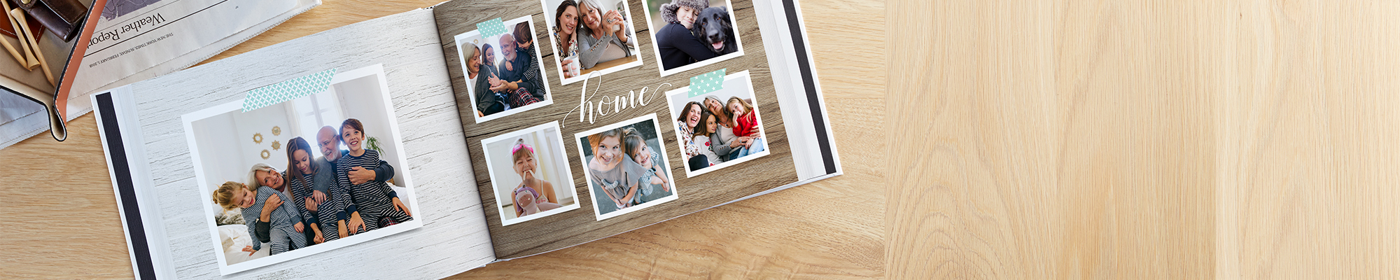 Photo Books Spring those photos from your phone and into our customizable photo books.