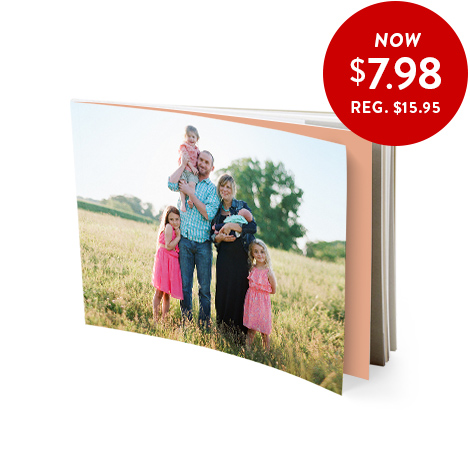 13X18CM SOFTCOVER BOOK