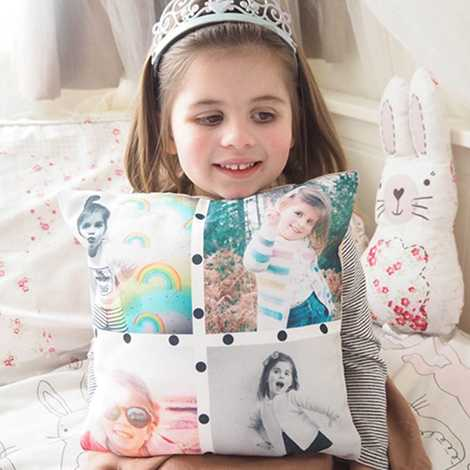 Collage Photo Cushions