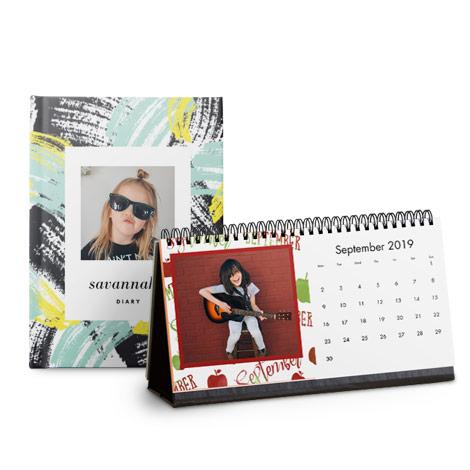 Desk + Diary