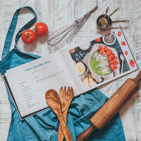 The Personalised Recipe Books Every Foodie Needs