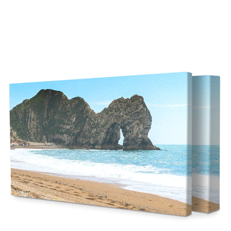 Panoramic 60x30cm Slim Photo Canvas Print