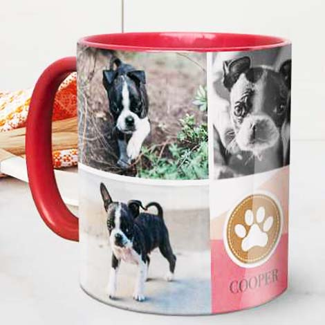 Creating a collage mug