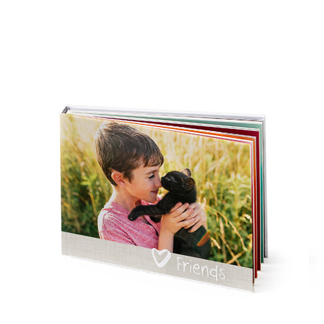 "8x6"" Landscape Photo Book (A5)"