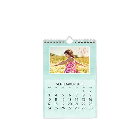 """A5 Wall Calendar (6x8"""")"""