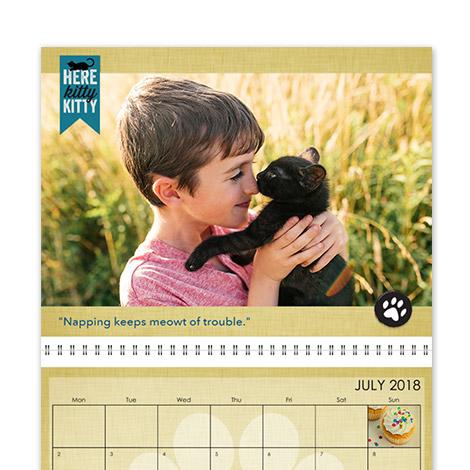 "36x56cm Wall Calendar (14x22"")"