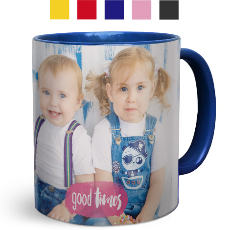 Coloured Coffee Mugs 330ml (11oz)