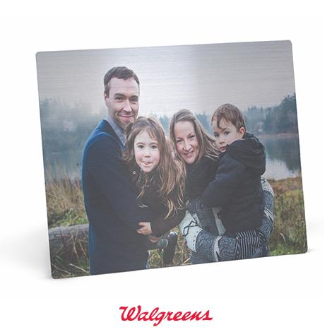 Metal Photo Panel - Pick up at Walgreens