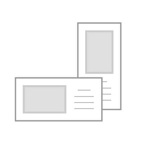 4x8 Flat Cards