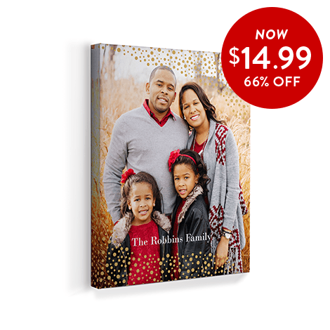 66% off 8x10 Canvas Prints