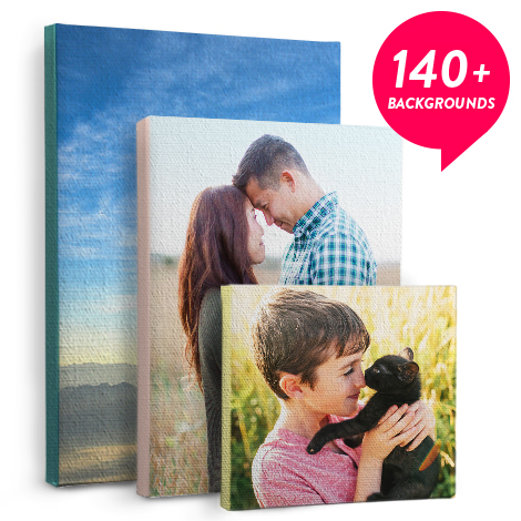 Canvas Prints, Color Wrap